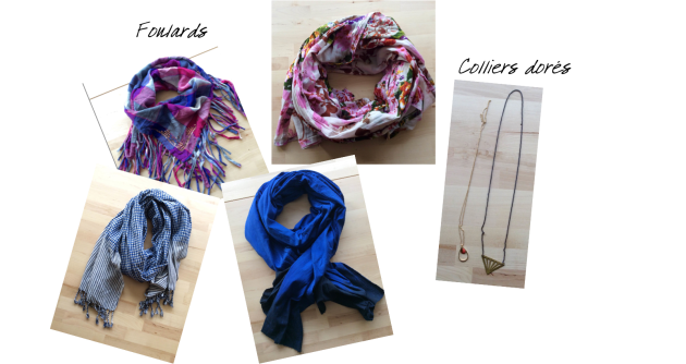 Collection P15 foulards et colliers
