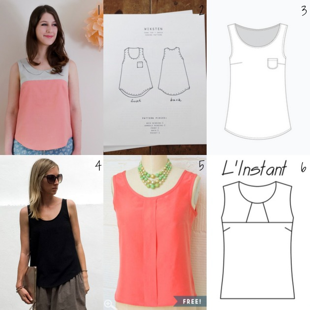 Tank tops patterns